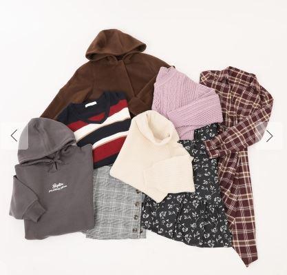 セシルマクビー2020福袋 10000円福袋 【選べるコート】AタイプとBタイプの中身